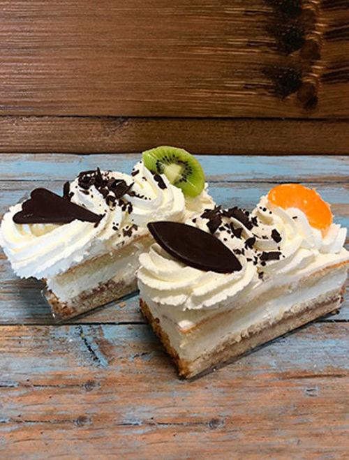 Afbeelding van Slagroomcake gebak